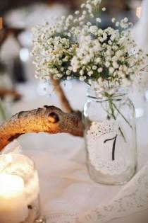 wedding photo - Napperon jours de mariage