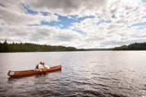 wedding photo - A Rustic Canoe Trip Wedding In Algonquin Park