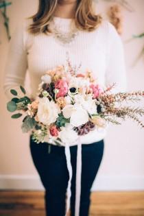 wedding photo - Свадебные букеты