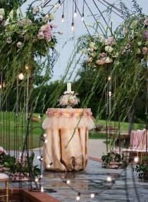 wedding photo - Outdoor Wedding Decor