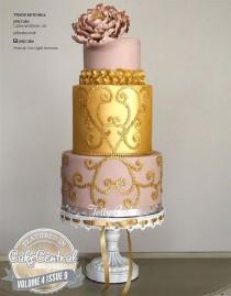 wedding photo - Потрясающий Свадебный Торт & Кекс Идеи