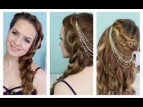 wedding photo - Printemps et bijoux Summer Time Braids + cheveux