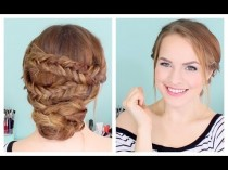 wedding photo - Comment faire un facile Fishtailed Chignons