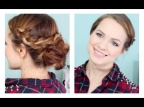 wedding photo - Braid & Bun pour les déplacements!