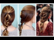 wedding photo - Quick & Beautiful French Braided Updo