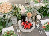 wedding photo - Jardin tablescapes