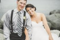 wedding photo - An Outdoorsy, Rustic Wedding In Campbell River, British Columbia