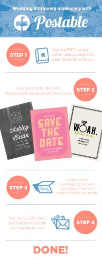 wedding photo - Mailing Made Easy with Postable