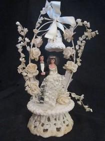 wedding photo - القبعات العالية كعكة الزفاف