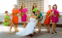 wedding photo - Neon Hochzeits-Thema Inspiration