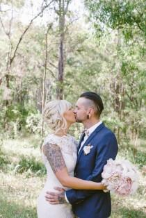 wedding photo - Rustic Vintage Wedding in Western Australia: Shae & Callum