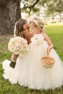 wedding photo - Flower Girl