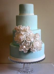 wedding photo - Tiffany blaue Hochzeits-