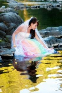 wedding photo - Regenbogen-Hochzeit