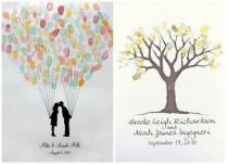 Hochzeitsideen Gastebuch Weddbook
