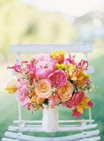 wedding photo - Bouquets de fleurs et de mariage