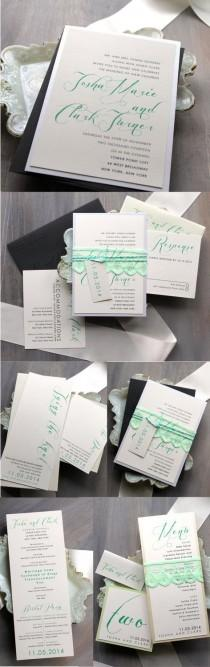 wedding photo -  Mint Green Wedding