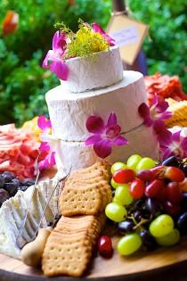 wedding photo - The Cheese Lover's Answer To Wedding Cake