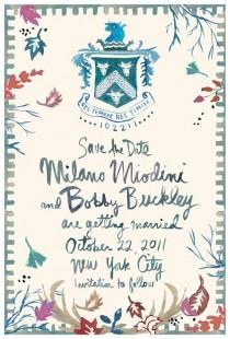 wedding photo - Mariages-Invitations-menus-Save The Date .....