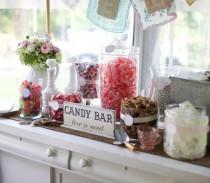 wedding photo - Mariages-Dessert tableau