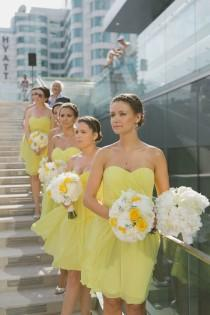 wedding photo - Mariage jaune