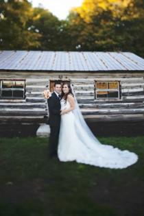 wedding photo - A Rustic Sugar Bush Wedding In Lanark, Ontario