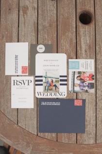 wedding photo - Papier, invitations, économie-le-dates, cartes de menu Etc!