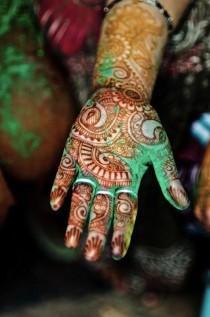 wedding photo - The Ancient Henna Tradition: A Festival Brides Boho Guide