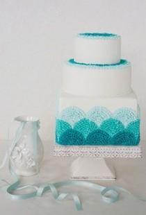 wedding photo - Aqua / Tiffany blaue Hochzeits-Palette