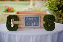 wedding photo - Tableau de mariage Escort / carte d'endroit Idées