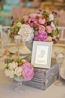 wedding photo - ♥~•~♥Wedding Centerpieces And Reception Decor