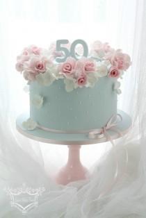 wedding photo - 50Th Birthday Cake