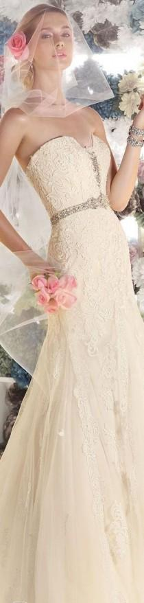 wedding photo - Bretelles Inspiration de robe de mariage