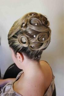 wedding photo - A Bride's Bridal Hair