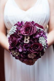 wedding photo - WEDDING / Brosche Bouquet