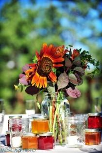 wedding photo - ПАДЕНИЕ деревенская Свадьба Идеи
