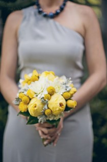 wedding photo - Jaune / Gris Mariages
