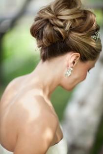 wedding photo - Brides avec des modèles Sass cheveux