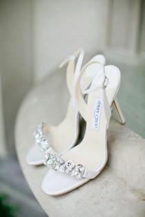 wedding photo - Riemchen Couture Brautschuhe