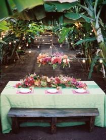 wedding photo - Тропический Банановой Роще Вдохновение Стрелять