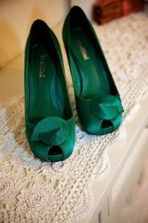 wedding photo - Зеленый Свадебные