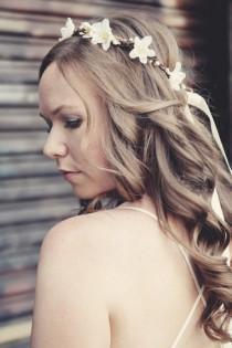wedding photo - Floral crown