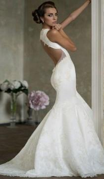 wedding photo - Aisle Stil: Atemberaubende Mermaid Brautkleider