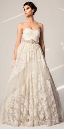 wedding photo - Temperley Braut Frühling 2015 Kollektion - Hochzeits Temperley
