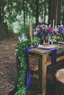 wedding photo - Fresh Flower Runners
