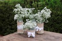 wedding photo - 5 tipos de flores para decorar una boda rústica