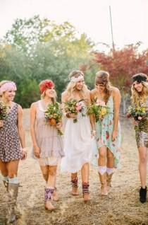 Wedding Gift Ideas For Hippies : wedding photoWedding: Bohemian Hippie