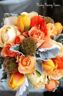 wedding photo - Оранжевый Свадебную Тему