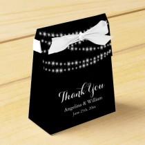 wedding photo - Lumières de scintillement de boîte de faveur