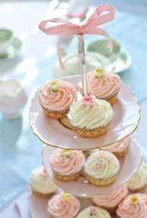 wedding photo - Layered cup cakes